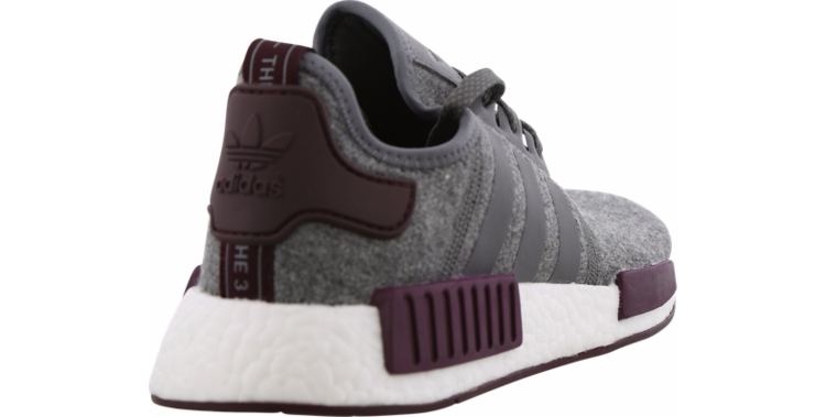 d82d87cf4 Adidas NMD R1 Grey Wool Maroon White CQ0761 Exclusive Boost Runner Mens  Size eBay View NMDR1 Wool on footlocker.de ...