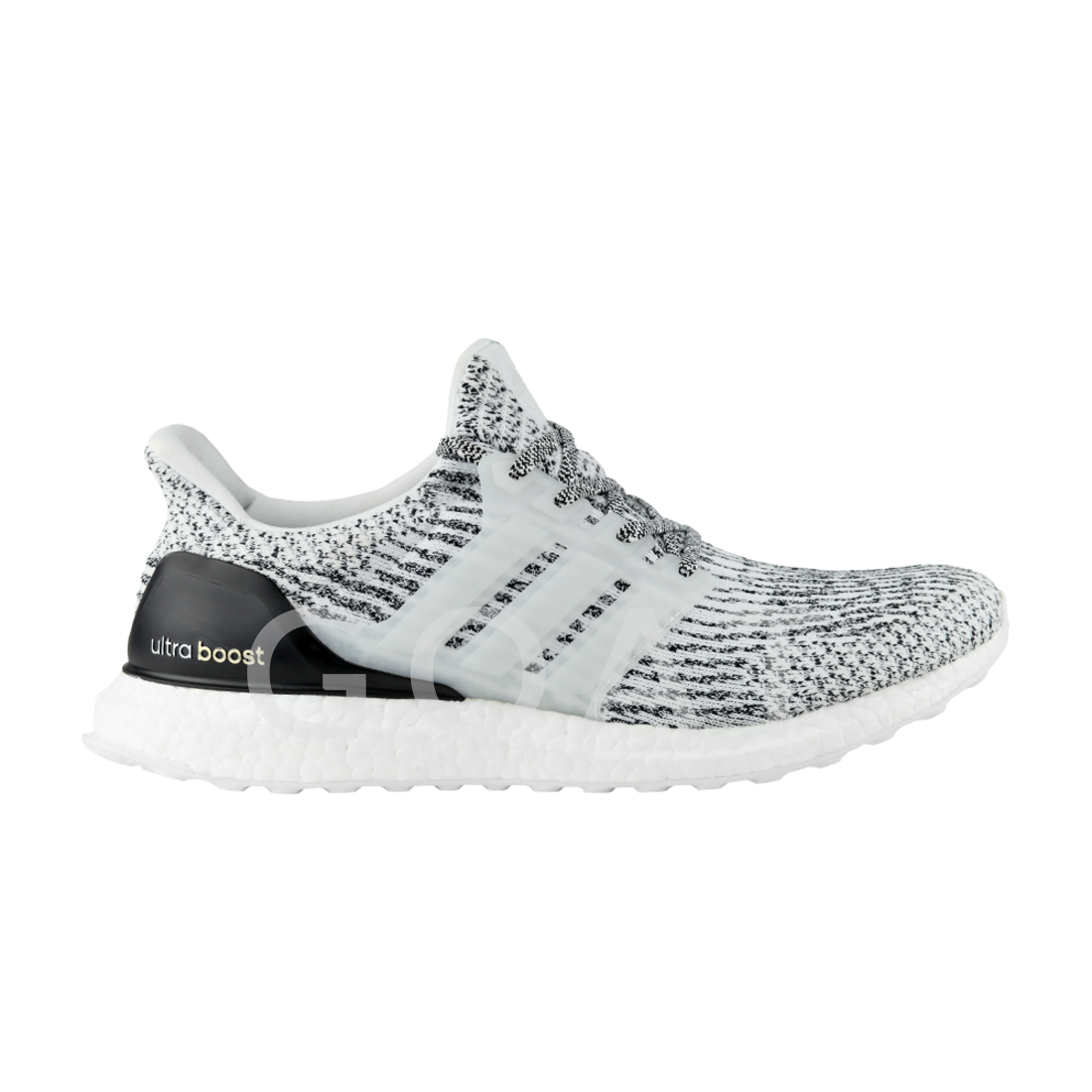 Adidas Ultra Boost Sz 10 Oreo Zebra Black / White / Gray S 80636